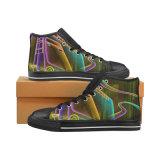 Mandrin Tylor Hicut 019 espadrilles unisexes d'impression de sublimation de chaussures de coutume