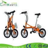 電気自転車の小型小型の電気バイクを折っているライト級選手