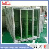 Usine en verre de guichet de glissement de profil de PVC de qualité