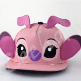 Borda Plana Snapback Fiftted Pink Kids Pac