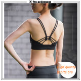 Bovenkant van de Yoga van de Bustehouder van de Sport van de Meisjes van de Slijtage van de Yoga van vrouwen de Naadloze