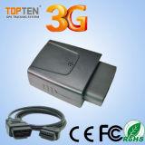 クラッシュセンサーのモニタ(TK208S-KW)が付いている3G OBD GPSの位置装置