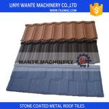 Materiais de construção Blue Classic / Bond Stone-Coated Metal Roofing Telhas de alumínio