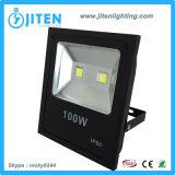 lumière d'inondation de la lumière IP65 DEL de lampe d'inondation de 100W DEL/éclairage extérieurs des projecteurs IP65