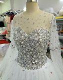 Nuovo Shinny il branello/perla/Rhinestone scintillante/vestiti da cerimonia nuziale di cristallo