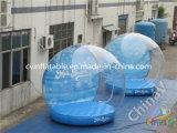 Handelsausstellung, die aufblasbares transparentes Luftblasen-Abdeckung-Zelt bekanntmacht