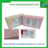 カスタムまめの挿入PVCボックスペーパーギフトの包装の香水の装飾的な荷箱