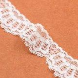 Merletto di nylon elastico del tricot di modo