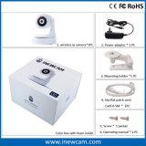 cámara audio de dos vías casera elegante de 720p/1080P WiFi con la opinión viva de 360 grados