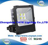 Luz de inundación de la luz/LED del túnel del diseño 10With20With30With50With60With70With80With90With100W LED de la venta superior de Yaye 18 la más nueva