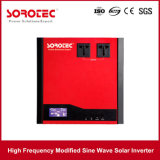 Visor LCD alarme audível e visual 1000-2000va Inversor de Energia Solar