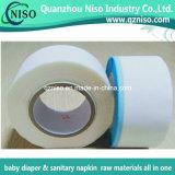 赤ん坊のおむつの作成のための熱い溶解のシリコーンBOPP青いPPの側面テープ