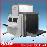 Una seguridad dominante del bagaje del aeropuerto del sistema de inspección del rayo de la parada normal 100-160kv X que controla la penetración del acero de 40m m