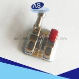Il metallo ortodontico inquadra le parentesi del metallo di CNC delle parentesi del metallo MIM con le parentesi ortodontiche di alta qualità 345hooks