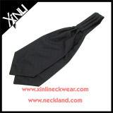 Laço feito sob encomenda tecido seda do Ascot da forma de 100% para homens