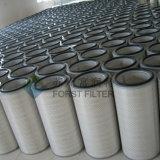 Cartouche filtrante de substitution conique d'air de la poussière de Forst