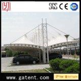 PVDFの2台の車のためのあらゆるシートを駐車する車のための二重側面のCarportのテント