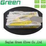 De duidelijke Beschikbare Handschoen van de Verwerking van het Voedsel