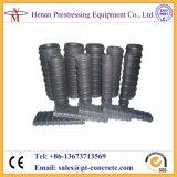 Pfosten-Spannkraft-gewölbte runde und flache HDPE Plastikleitung