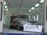 Cabina automatica a base d'acqua della vernice dell'automobile della cabina di spruzzo del Ce Wld8400
