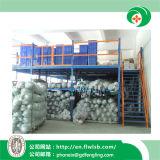Rack de múltiples niveles de metal para almacenamiento en almacén con aprobación Ce