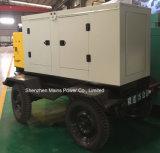 45kVA 36kw fonte de alimentação de emergência Gerador Diesel Cummins Reboque móvel