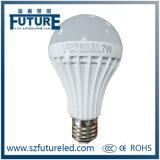 Lâmpada de lâmpada LED de emergência EW de 5W com bateria embutida