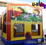 Dora barata juguetes inflables Jumping aire inflable Castillo bouncer para la venta