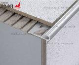 プロフィールをゆっくり進る装飾的な金属階段