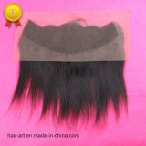 "fechamento natural reto do Frontal do cabelo do Virgin da cor 10 "" - 20 """