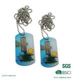 L'impression offset de la Chine usine Dog Tags