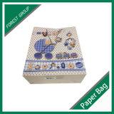 Bolso de compras encantador del papel del portador para la ropa del bebé