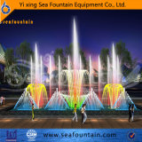 Pleine couleur LED Lights Seafountain Design Music Dancing Fountain