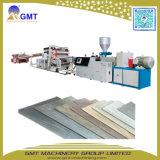 Machine van de Extruder van de Tegel van de Bevloering van de Plank van het Blad van pvc de Houten Vinyl Plastic