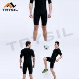Il modo del Mens imposta i brevi pantaloni di /Short Legging delle parti superiori per la ginnastica