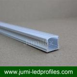 Espulsioni del montaggio di superficie LED di standard 12mm di figura di U per le strisce del LED