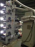 Cor da máquina de impressão 5 de Flexography com os 2 UV