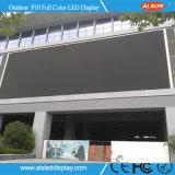 HD impermeabilizzano lo schermo di visualizzazione esterno del LED di colore completo del TUFFO P10