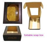 OEM Cmyk caixa de embalagem de sabão dobrável / 8 peças de caixa de papel de sabão