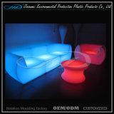 Meubles de jardin en plastique résistant à la lumière et en plastique rechargeables