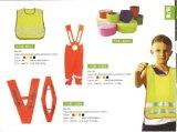 Reflektierende Sicherheits-Kleidung-Weste für 4-8 Yeas-alte Kinder schützend