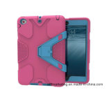 Caisse antichoc lourde hybride de tablette de choc pour l'iPad mini 1/2/3