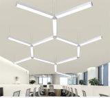 iluminación linear pendiente de aluminio de 60W LED