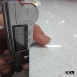 Kingkonree Weiß-funkelnder künstlicher Quarz-Stein