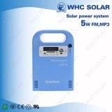 3 LED DC Solar Light System avec radio et musique USB