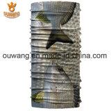 Polyester estampé par coutume Microfiber pêchant le Bandana tubulaire sans joint pour le recyclage