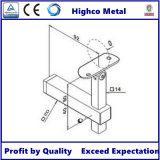 Balustrade d'acier inoxydable de la bride de balustrade (tube au tube)