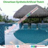 Thatch sintetico che copre il coperchio messicano del capo della pioggia di Thaych Bali Java Palapa Viro del Thatch di Rio del Thatch a lamella artificiale della palma