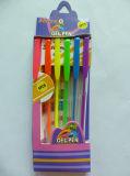 Bolígrafo de Gel 6pzas de embalaje Caja de papel