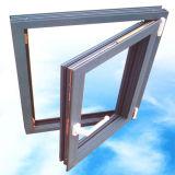 Конструкция окна утюга окна металла окна алюминиевого сплава пролома отделки циновки термально